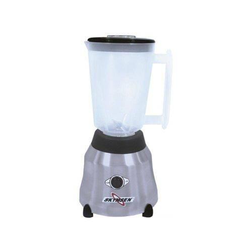 Liquidificador Inox Copo Plástico Alta Rotação 1,5 Litros Lt-1,5-n