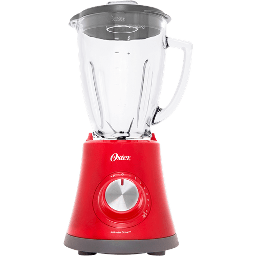Liquidificador Oster, Super Chef, 1.25 Litros, 750W, Vermelho - BLSTMG-RR8 - 220V