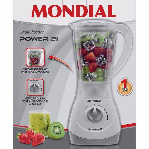 Liquidificador Power 2 Nl-26 - 110v - Mondial