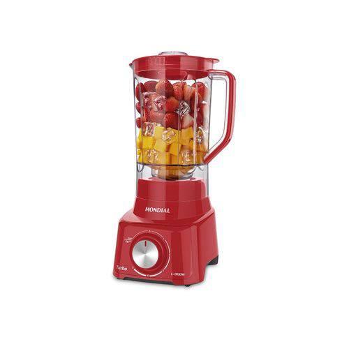Liquidificador Turbo Full Red 127v - Mondial