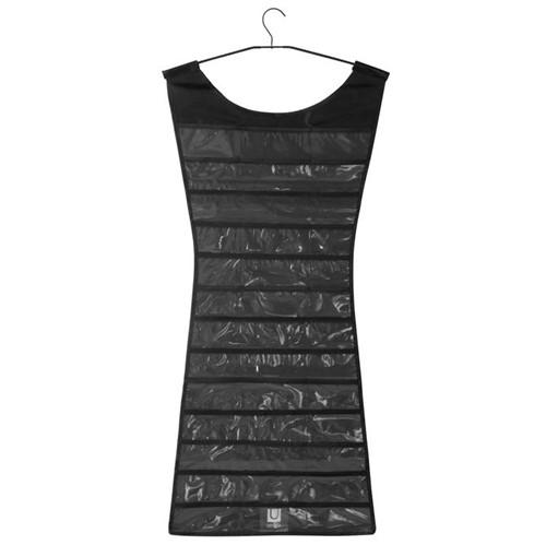 Little Black Dress Organizador de Bijoux Preto/incolor