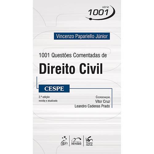 Livro - 1001 Questões Comentadas de Direito Civil