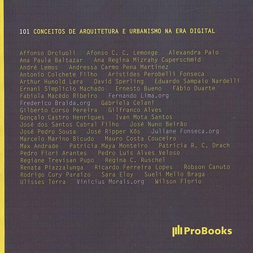 Livro - 101 Conceitos de Arquitetura e Urbanismo na Era Digital