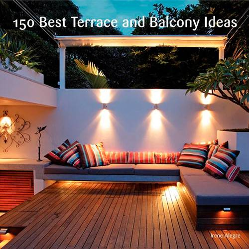 Livro - 150 Best Terrace And Balcony Ideas