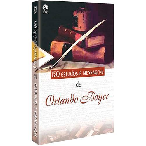 Livro - 150 Estudos e Mensagens de Orlando Boyer