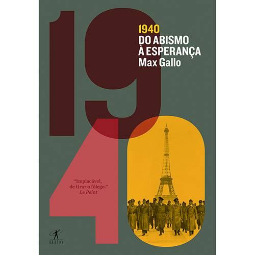 Livro - 1940: do Abismo à Esperança