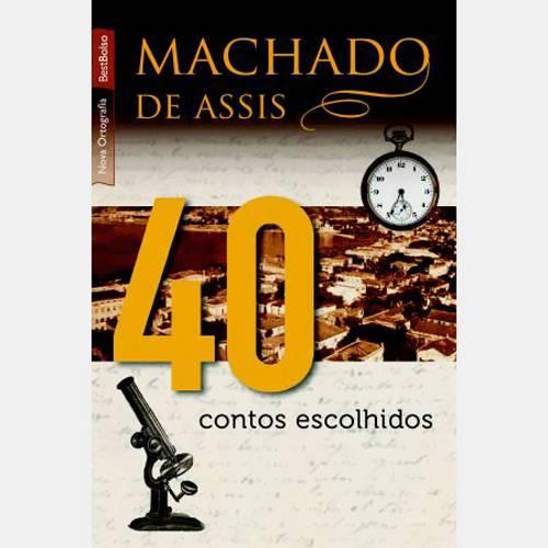 Livro - 40 Contos Escolhidos