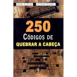 Livro - 250 Códigos Quebrar a Cabeça