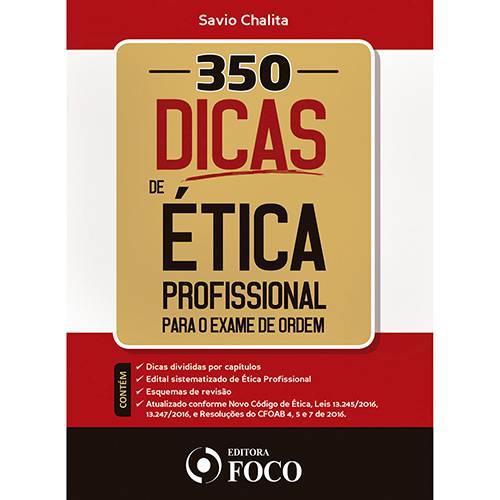 Livro - 350 Dicas de Ética Profissional para o Exame de Ordem