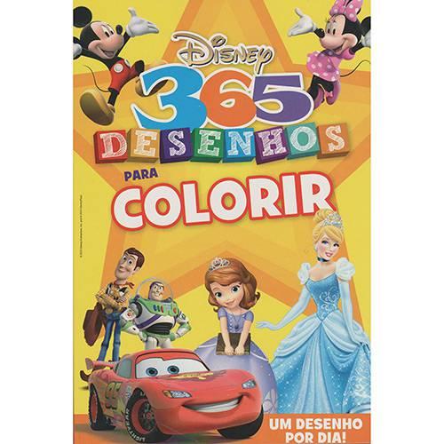 Livro - 365 Desenhos para Colorir Disney