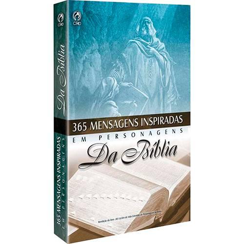 Livro - 365 Mensagens Inspiradas em Personagens da Bíblia