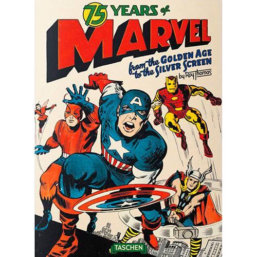 Livro - 75 Years Of Marvel Comics