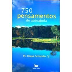 Livro - 750 Pensamentos de Autoajuda