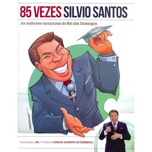 Livro - 85 Vezes Silvio Santos