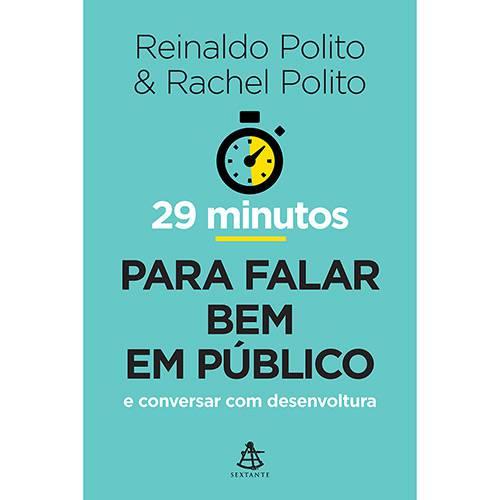 Livro - 29 Minutos para Falar Bem em Público e Conversar com Desenvoltura