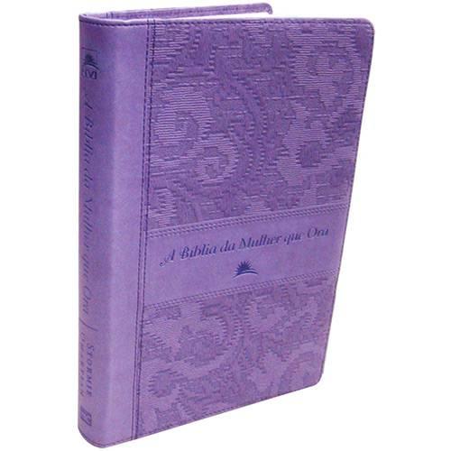 Livro - a Bíblia da Mulher que Ora: NVI (Lilás)