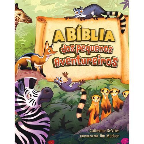 Livro - a Bíblia dos Pequenos Aventureiros