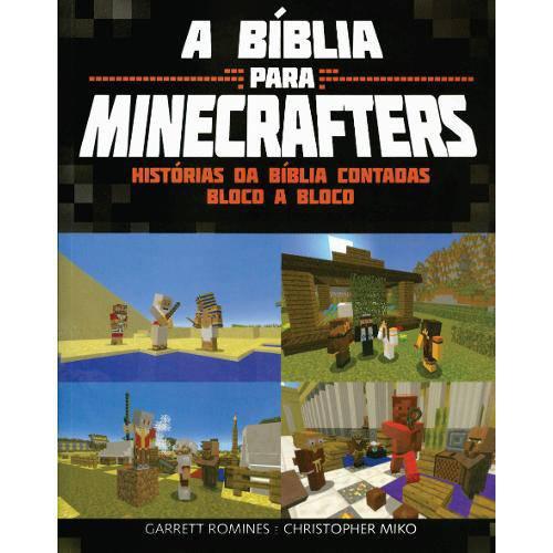 Livro - a Bíblia para Minecrafters - Histórias da Bíblia Contadas Bloco a Bloco
