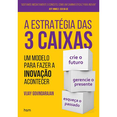 Livro - a Estrategia das 3 Caixas