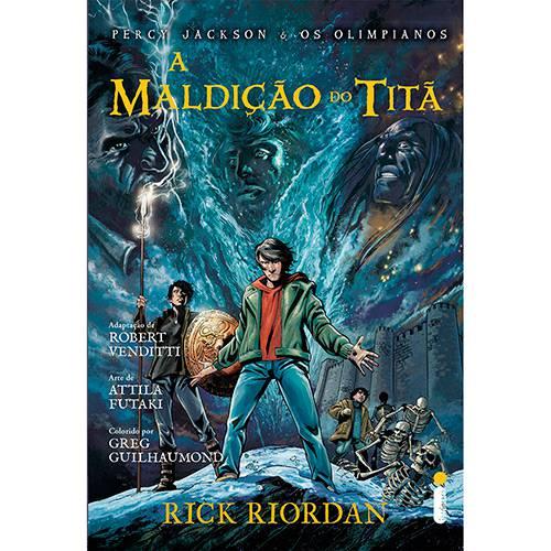 Livro - a Maldição do Titã - Percy Jackson e os Olimpianos