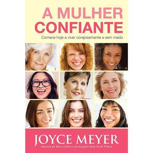 Livro - a Mulher Confiante - Joyce Meyer