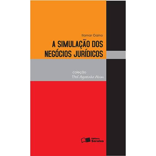 Livro - a Simulação dos Negócios Jurídicos - Coleção Prof. Agostinho Alvim