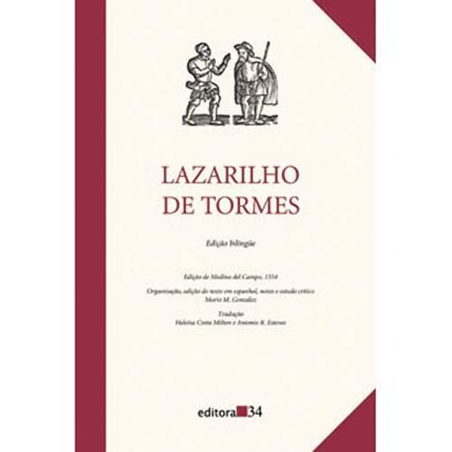 Livro - a Vida de Lazarilho de Tormes