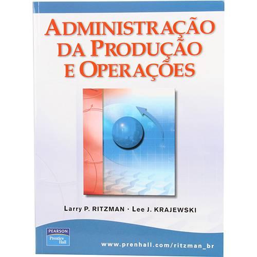 Livro - Administração da Produção e Operações