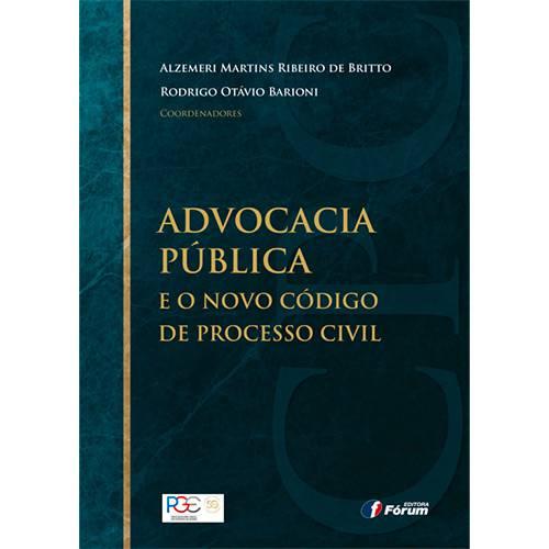 Livro - Advocacia Pública e o Novo Código de Processo Civil