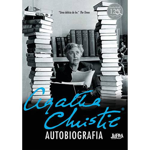 Livro - Agatha Christie - Autobiografia