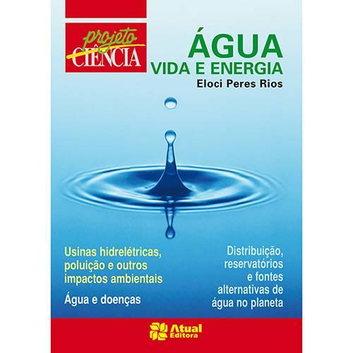Livro - Água: Vida e Energia