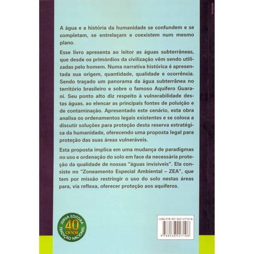 Livro - Águas Subterrâneas e a Legislação Brasileira