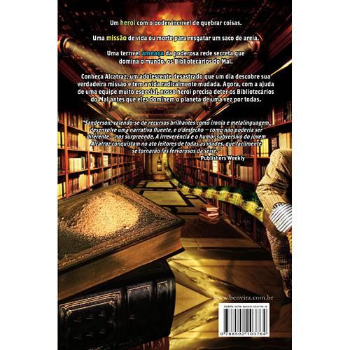 Livro - Alcatraz Contra os Bibliotecários do Mal