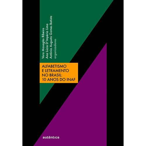 Livro - Alfabetismo e Letramento no Brasil: 10 Anos do INAF
