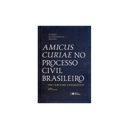 Livro - Amicus Curiae no Processo Civil Brasileiro