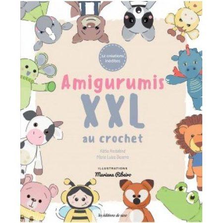 Livro Amigurumis XXL Au Crochet: Amigurumis Gigantes Livro Amigurumis XXL Au Crochet
