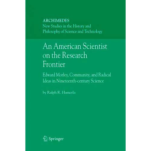 Livro - An American Scientist On The Research Frontier