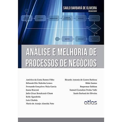 Livro - Análise e Melhoria de Processos de Negócios