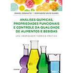 Livro - Análises Químicas, Propriedades Funcionais e Controle da Qualidade de Alimentos e Bebidas