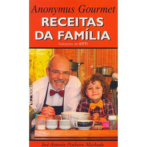 Livro - Anonymus Gourmet - Receitas da Família