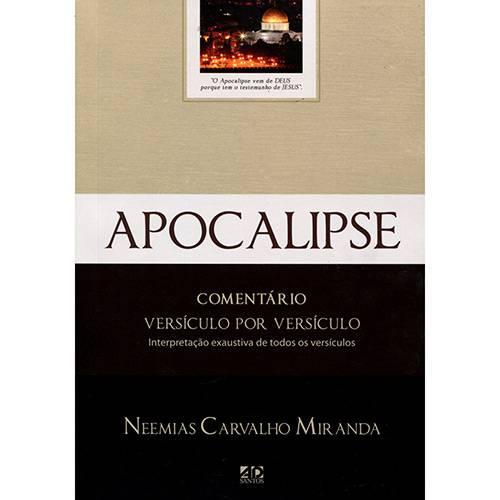 Livro - Apocalipse: Comentário Versículo por Versículo