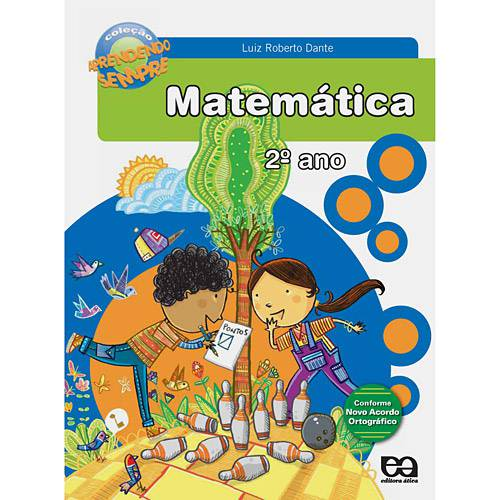 Livro - Aprendendo Sempre - Matemática - 2º Ano/ 1ª Série