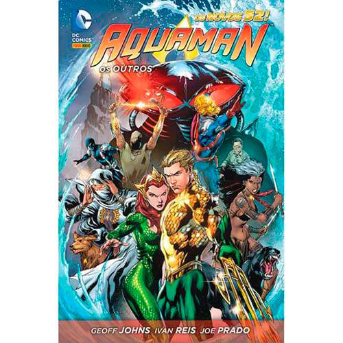 Livro - Aquaman: os Outros