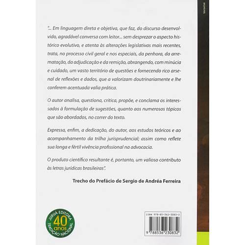 Livro - Arrematação, Adjudicação e Remição no Direito Brasileiro