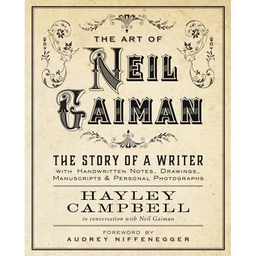 Livro - Art Of Neil Gaiman: The Story Of a Writer - 1ª Ed.