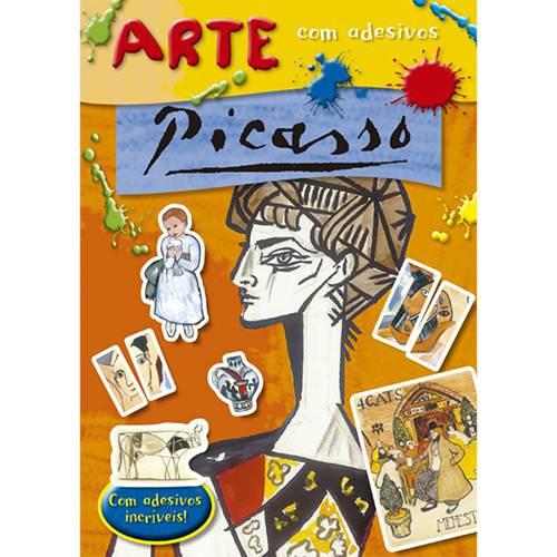 Livro - Arte com Adesivos: Picasso