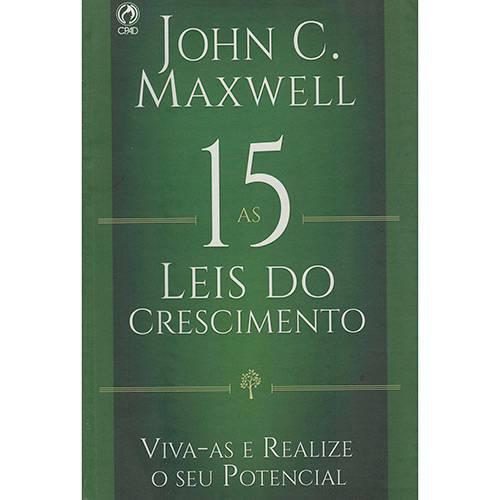 Livro - as 15 Leis do Crescimento: Vive-as e Realize o Seu Potencial