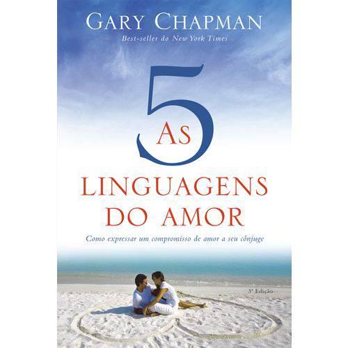 Livro as 5 Linguagens do Amor Gary Chapman