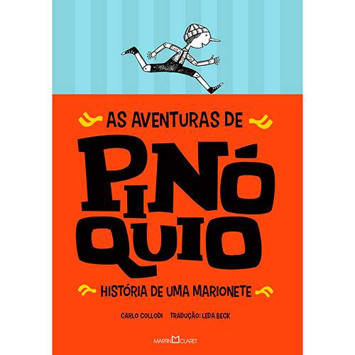 Livro - as Aventuras de Pinóquio: História de uma Marionete