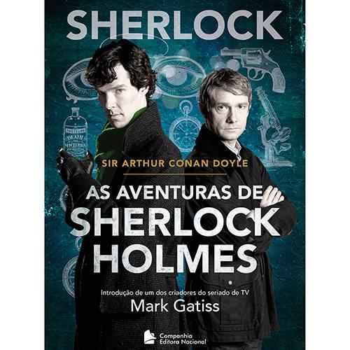 Livro - as Aventuras de Sherlock Holmes - Sherlock